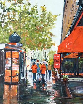 Rainy Day Paris by Kit Hevron Mahoney