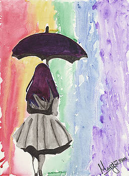 Rainy Day Under A Rainbow by Marbear