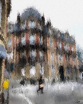 Rainy Day Walk by Linda Ouellette