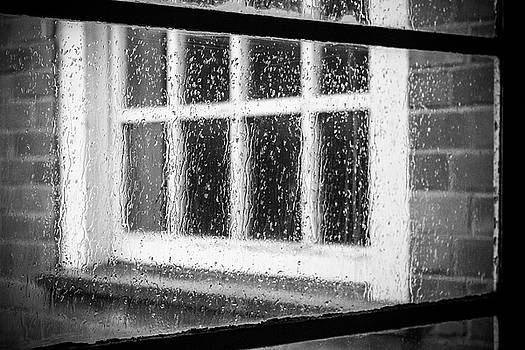 Rainy day window by Deborah Ann Stott