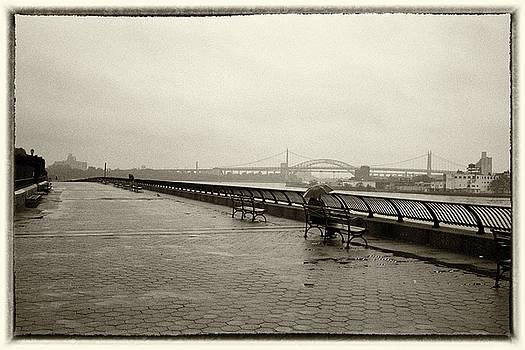 Rainy Days Sepia by Dave Beckerman