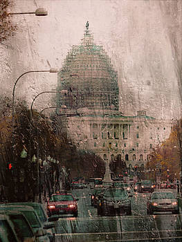 Rainy DC by Scott Fracasso