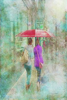 Rainy in Paris 1 by Ramona Murdock