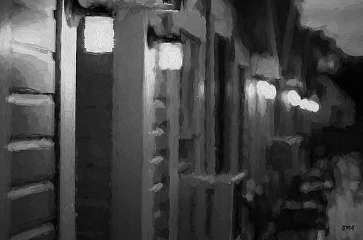 David Gordon - Rainy Night Motel II BW