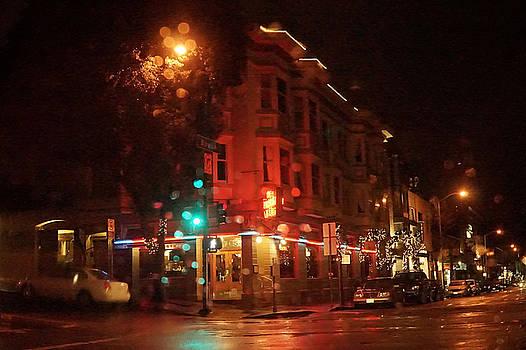 Rainy Night San Francisco by April Bielefeldt