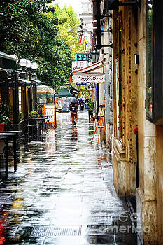 rainy streets of Rome by HD Connelly