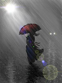 Rainy walk by Darren Cannell