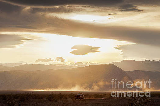 Raising Dust in Death Valley by Colin and Linda McKie