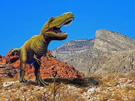 Frank Wilson - Rajasaurus in The Desert