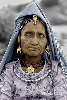 Craig Lovell - Rajathani Tribal Woman - Pushkar India 2