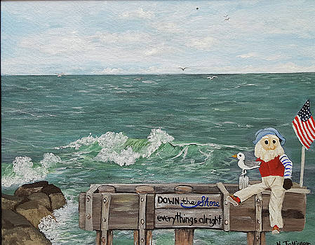 Ralph Down the Shore by Norma Tolliver
