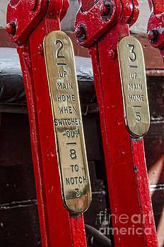 Ralway signal levers by Steev Stamford