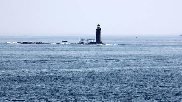Ram Island Ledge Lighthouse by Gerald Mitchell