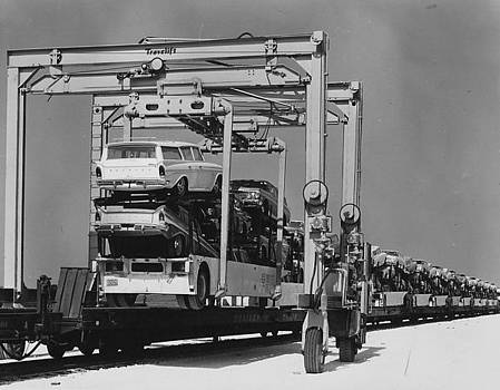 Chicago and North Western Historical Society - Ramblers Prepped for Shipment - 1960