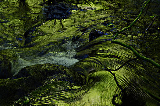 Ramona Falls Creek by Jim Rowley