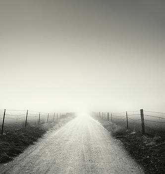 Ramona Foggy Dirt Road by William Dunigan