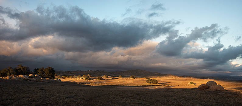 Ramona Grasslands Sunset by William Dunigan