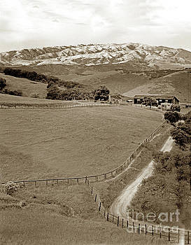 Ranch and Mount Toro by California Views Mr Pat Hathaway Archives