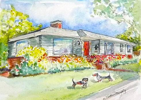 Ranch house in Portland, OR by Collin Murphy
