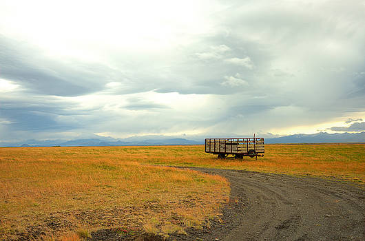 Ranch Scene,  Iceland by Joseph Duba