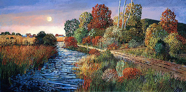 Ranchitos Moonrise by Donna Clair