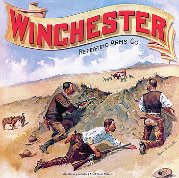 Ranchmen Protecting Stock by Fredrick Remington