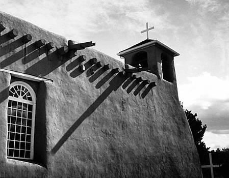 Rancho de Taos Shadows by Allan McConnell