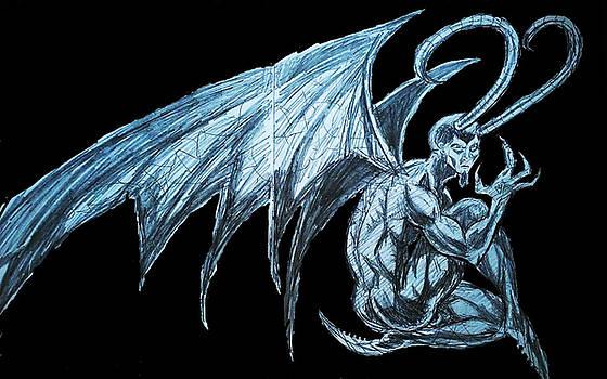 Random Demon # 2 by Mark Bradley