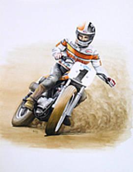 Randy Goss by Harry Miller