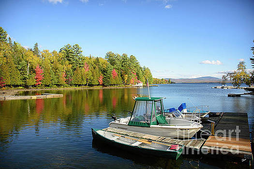 Rangeley Lake Boats by Alana Ranney