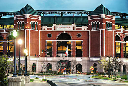 Rangers Baseball Stadium 31017 by Rospotte Photography