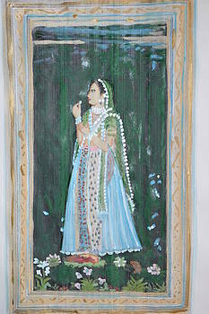 Rani waiting for her Raja by Vikram Singh