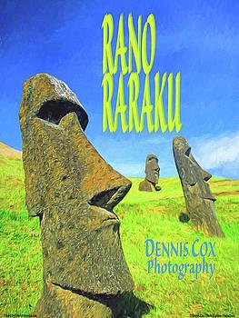 Dennis Cox Photo Explorer - Rano Raraku Travel Poster