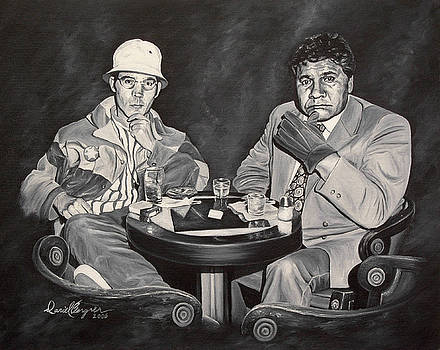 Raoul and Dr. Gonzo in Las Vegas by Daniel Bergren