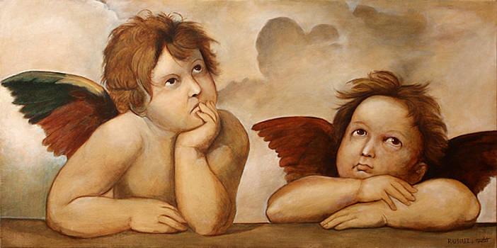 Raphael Angels by Darko Topalski