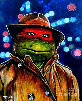 Raphael Ninja Turtle by Jose Mendez