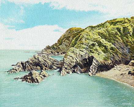 Rapparee Cove, Ilfracombe by Mark Woollacott