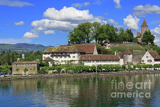 Rapperswil in St Gallen Switzerland by Louise Heusinkveld