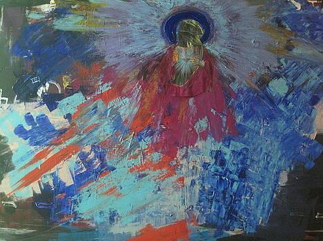 Raptor Jesus by David Kristjanson