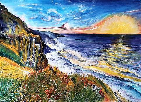 Rapturous Sunset by Richard Jules