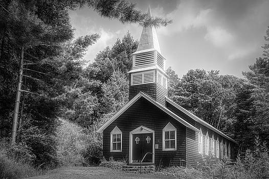 Raquette Lake Chapel by Guy Whiteley
