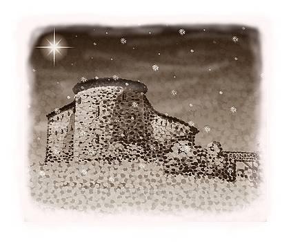 Alan Hogan - Raseborg Castle Christmas card