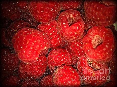 Raspberries by Sylvie Leandre