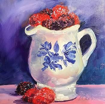 Raspberry Delights by Donna Pierce-Clark
