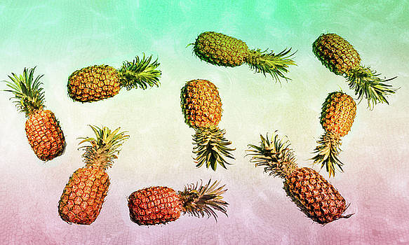 Rasta Pineapples by Angelina Hills