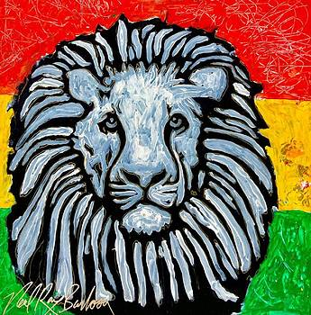 Rastafari Lion by Neal Barbosa