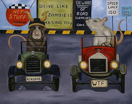 Leah Saulnier The Painting Maniac - Rat Race 4