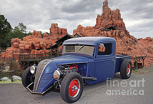 Rat Rod and Thunder Mountain by Randy Harris