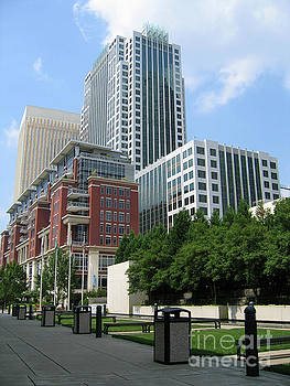 Ratcliffe Condos and Wells Fargo Towers by Jill Lang