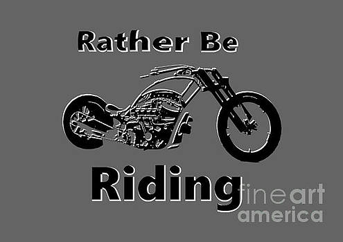 Rather Be Riding  by Mark Moore